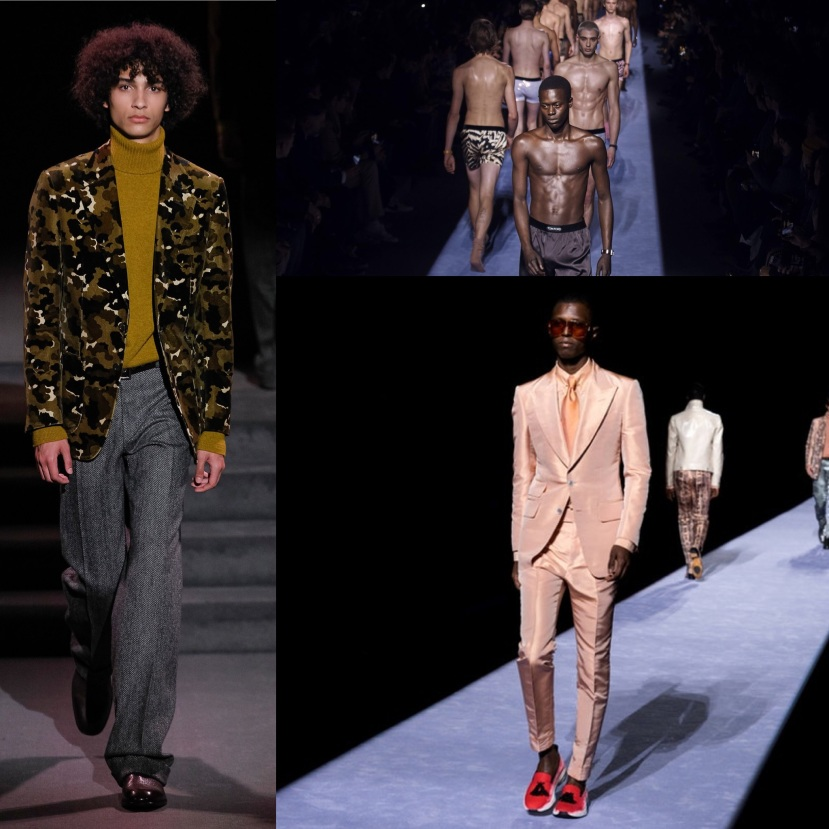 Tom Ford Bares All NY Fashion Wk 2018